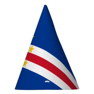Cape Verde Flag Party Hat