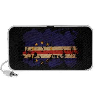 Cape Verde Flag Portable Speaker