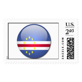 cape verde flag postage