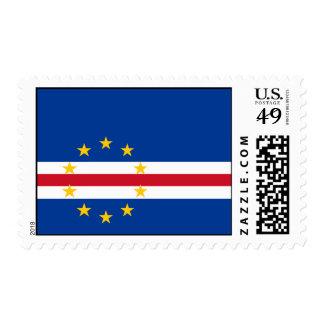Cape Verde Flag Postage Stamp