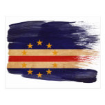 Cape Verde Flag Postcards