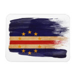 Cape Verde Flag Rectangular Magnet