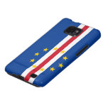 Cape Verde Flag Samsung Galaxy Cases