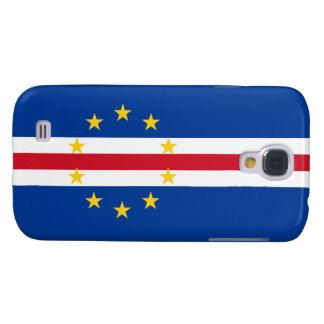 Cape Verde Flag Samsung Galaxy S4 Case