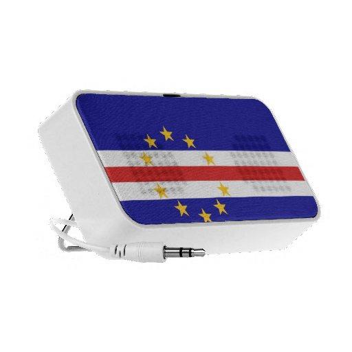 Cape Verde Flag iPod Speakers