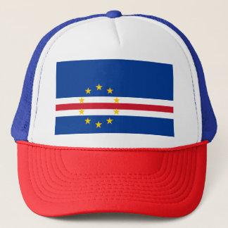 Cape Verde Flag Trucker Hat