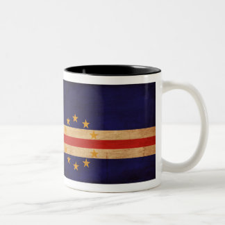 Cape Verde Flag Two-Tone Coffee Mug
