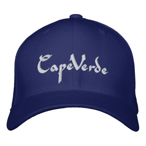 Cape Verde hat Embroidered Baseball Cap