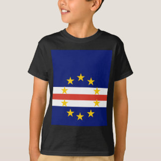 Cape Verde High quality Flag T-Shirt