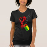 Cape Verde Historic Flag Hand Tees