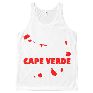 Cape Verde Islands All-Over-Print Tank Top
