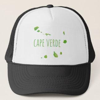 Cape Verde Map Trucker Hat
