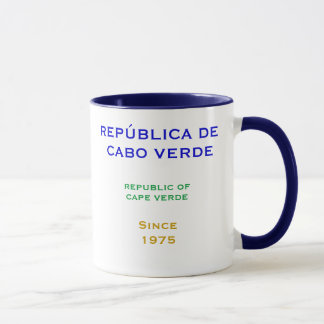 CAPE VERDE*-  Mug with Flag and Crest