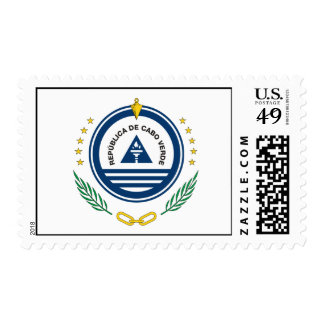 Cape Verde Official Coat Of Arms Heraldry Symbol Postage