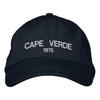 Cape Verde Personalized Adjustable Hat