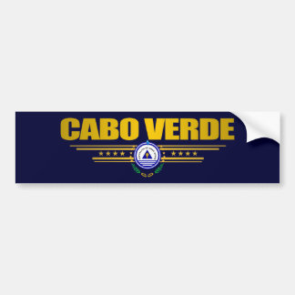 Cape Verde Pride Bumper Sticker