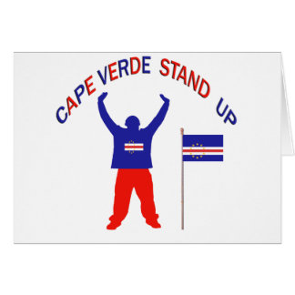 Cape Verde Stand up Card