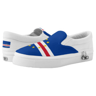Cape Verdean flag Slip-On Sneakers