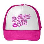cape verdean girl trucker hat