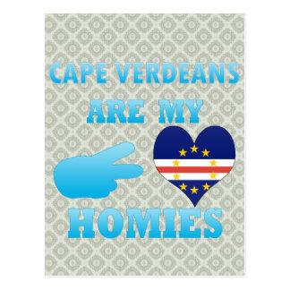 Cape Verdeans are my Homies Postcards