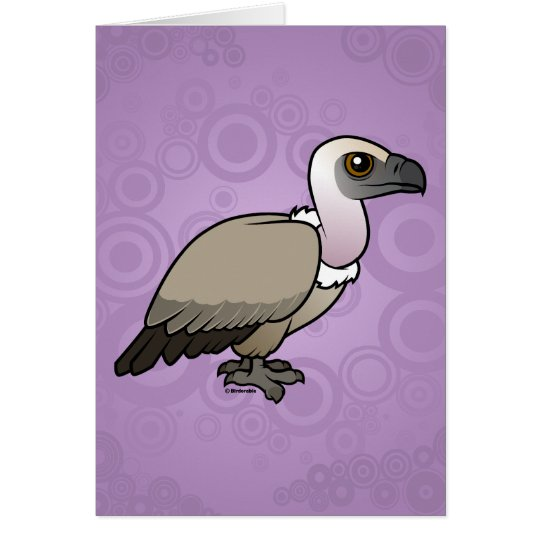 Cape Vulture Card