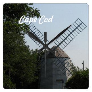 Cape Windmill Wallclock
