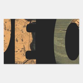 capecod1931 rectangular sticker