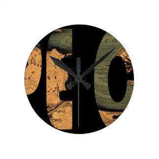 capecod1931 round clock