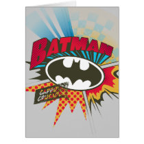 Caped Crusader Card