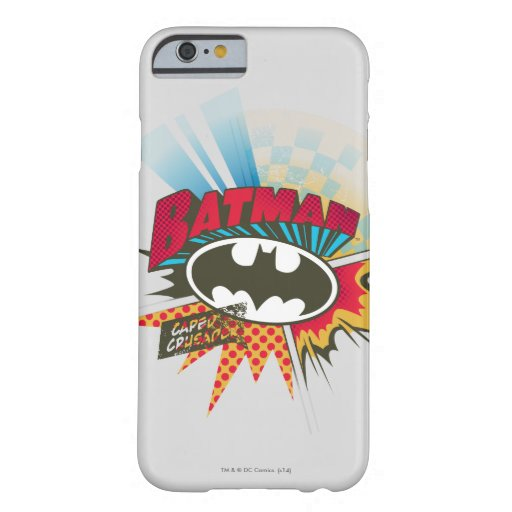 Caped Crusader Barely There iPhone 6 Case