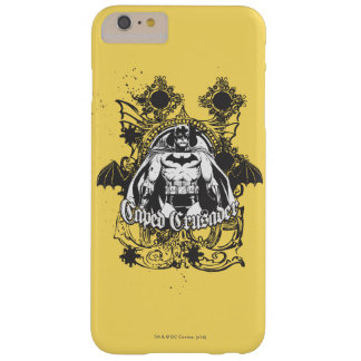 Caped Crusader Image Barely There iPhone 6 Plus Case