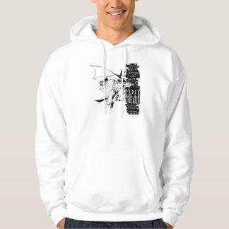 Caped Crusader Sketch Hoodie