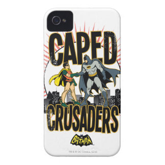 Caped Crusaders Graphic iPhone 4 Case