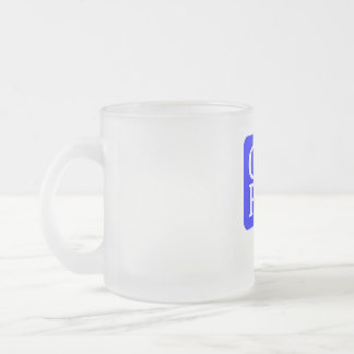 CAPED FROSTED MUG 10 OZ.