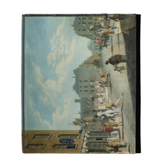 Capel Street with the Royal Exchange, Dublin, 1800 iPad Cases