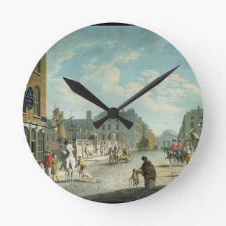 Capel Street with the Royal Exchange, Dublin, 1800 Round Clock