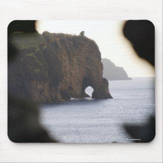 Capelas coastline mouse pad