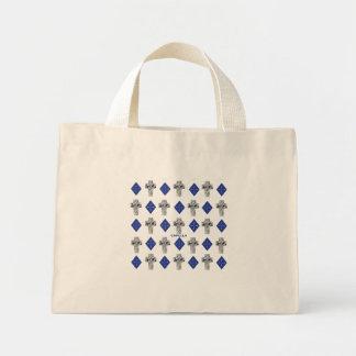 Capella jewels® Cross Cut Diamond Tote Bag