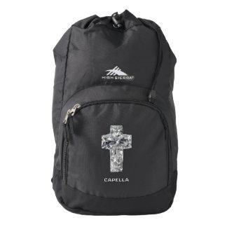 Capella jewels® Unique Christian Cross Backpack