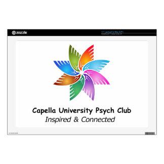 "Capella Univ Psych Club Logo a.png 17"" Laptop Skin"