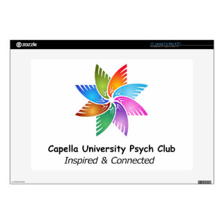 Capella Univ Psych Club Logo a.png Decal For Laptop