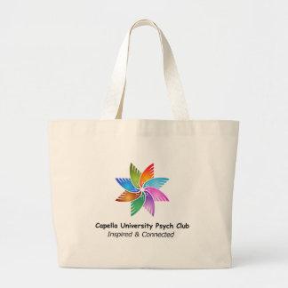 Capella Univ Psych Club Logo a.png Jumbo Tote Bag