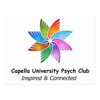 Capella Univ Psych Club Logo a.png Postcard