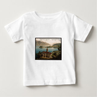 Capello St. Angelo and view of Bellagio, Lake Como Baby T-Shirt
