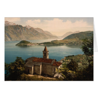 Capello St Angelo, Lake Como, Lombardy, Italy Card