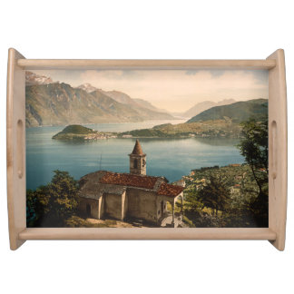 Capello St Angelo, Lake Como, Lombardy, Italy Serving Tray