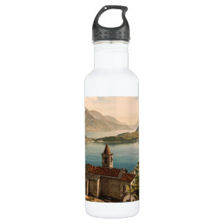 Capello St Angelo, Lake Como, Lombardy, Italy Water Bottle