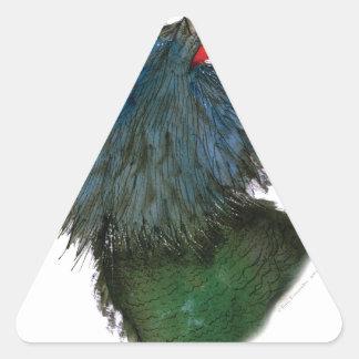 capercaillie bird, tony fernandes triangle sticker