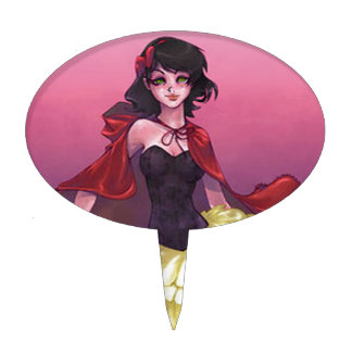 Caperucita Rojo Figuras De Tarta