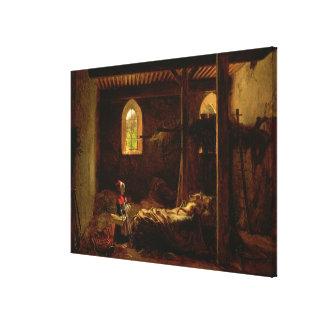 Caperucita Rojo, c.1820 Impresiones En Lona